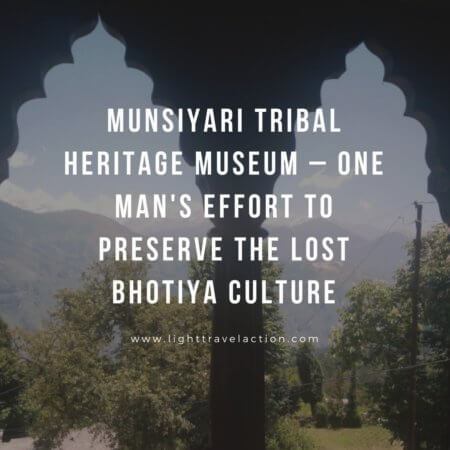 The curator and owner of the museum Sher Singh Pangtey, fondly called Massab, established the Tribal Heritage Museum.