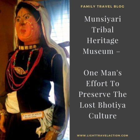 Bhotiya tribe woman in traditional attire