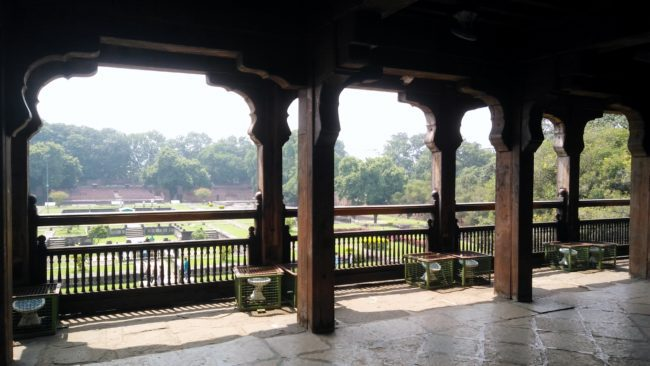 Shaniwarwada (Śanivāravāḍā) is a historical fortification in the city of Pune in Maharashtra, India.