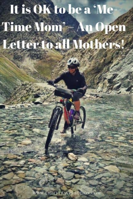 Manali to Leh cycling woman