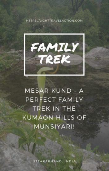 Uttarakhand Family Trek in Meesar Kund